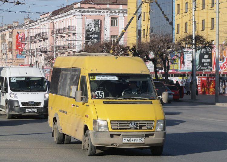 Маршрутка №45 может вновь появиться на дорогах Рязани