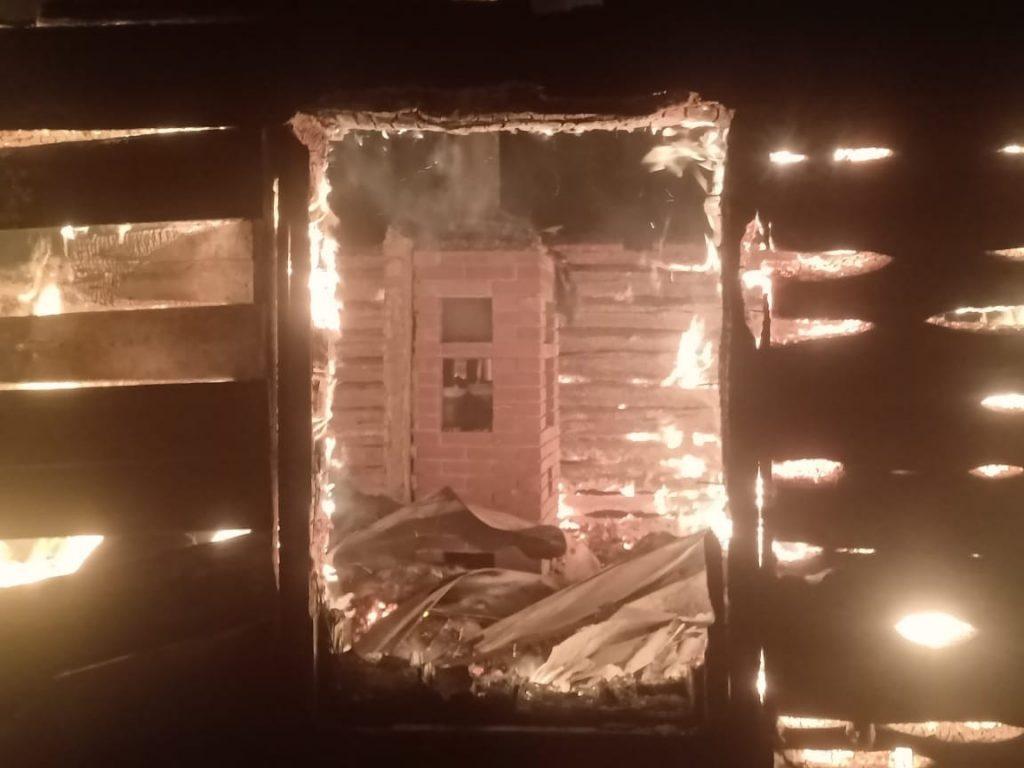 В Спасском районе произошло два пожара