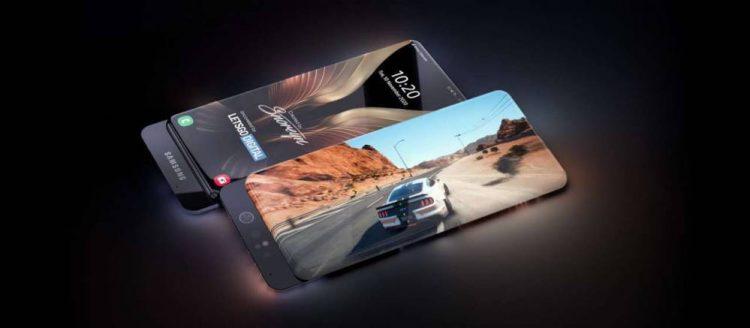 Samsung изобрел смартфон с «бесконечным» экраном