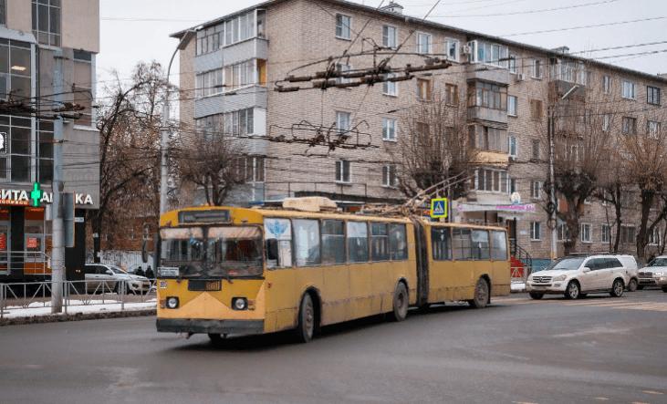 Конечная остановка рязанского троллейбуса №2 изменится