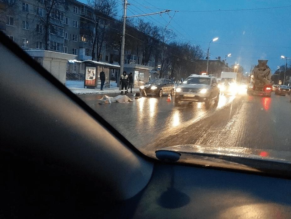 В Рязани на улице Дзержинского насмерть сбили женщину