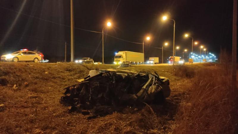 В Рязани погиб водитель, врезавшийся в грузовик