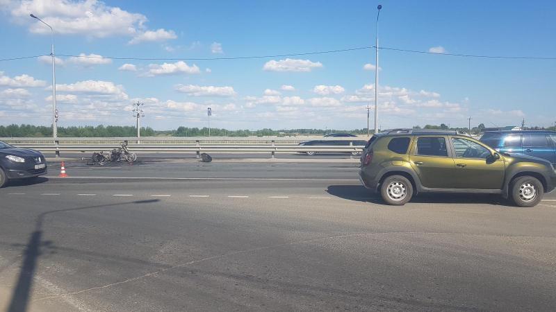Стали известны новые факты ДТП с горящим мотоциклом под Рязанью