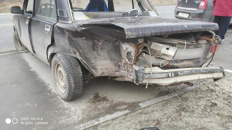 В ДТП на улице Забайкальской пострадал 58-летний рязанец