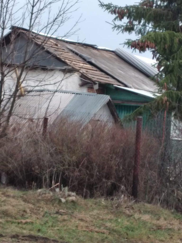 В Пронском районе прошел сильный ураган