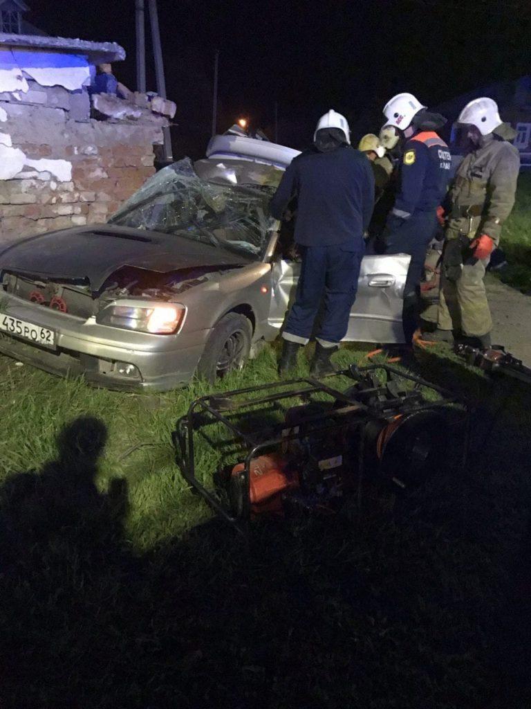 Под Рязанью в аварии погибли двое