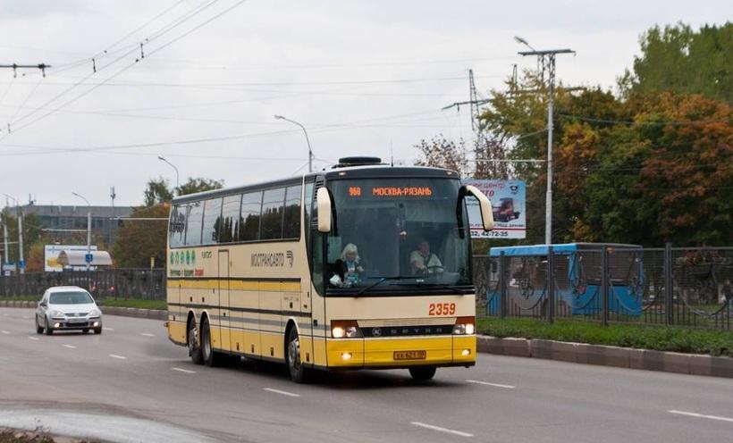В Рязани изменят расписание автобусов из города