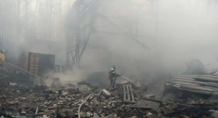 В Шиловском районе в пожаре на пороховом заводе погибли 15 человек