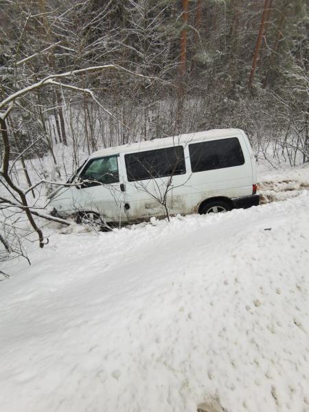 В ДТП в Клепиковском районе пострадали женщина и 6-летний ребенок
