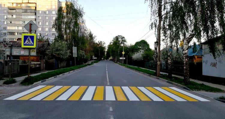 В регионе продолжаются работы по нанесению линий дорожной разметки