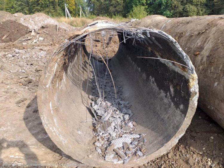 В Рязани отремонтируют канализационный коллектор