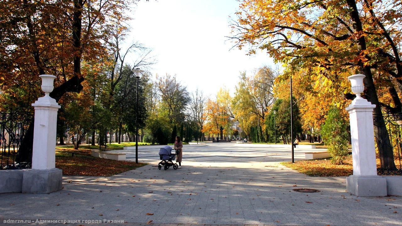 Рязанская администрация отчиталась о завершении работ по благоустройству в Наташином парке