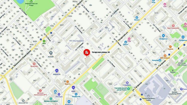 В 72 домах отключили отопление из-за провалившегося асфальта на улице Татарской
