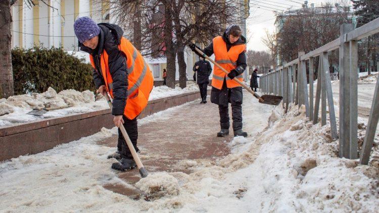 Опубликован список рязанских улиц, которые расчистят от снега в ночь на 2 марта