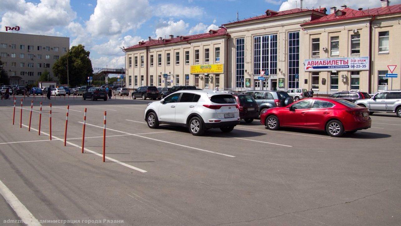 На рязанском вокзале «Рязань-1» в мае заработает платная парковка
