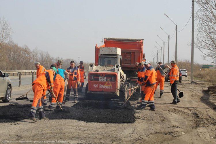 Завершен ямочный ремонт Северной окружной дороги