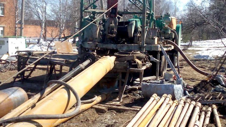 Водоканал строит в районе рязанского Лесопарка канализационный коллектор