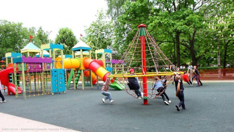 На трех рязанских улицах прошли комиссионные обследования спортивных площадок