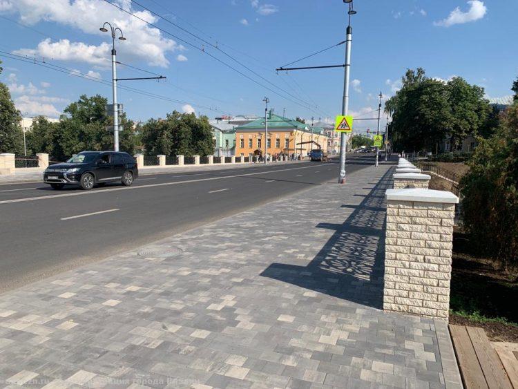 Завершается реконструкция моста на улице Ленина