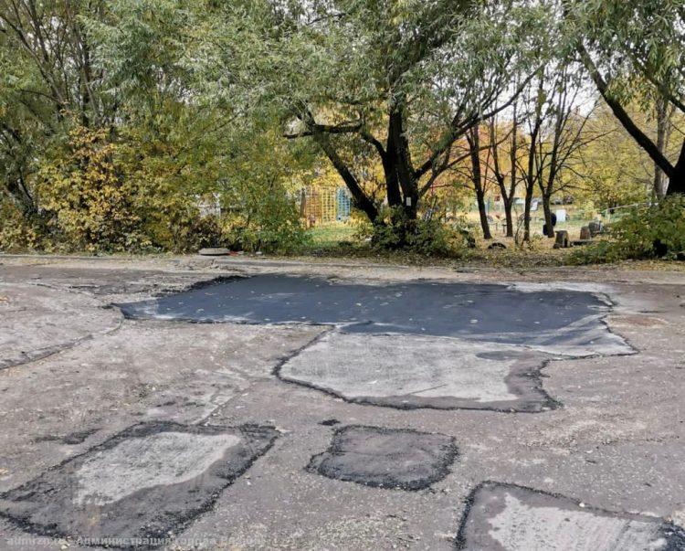 В Рязани с начала года отремонтировали около 50 тысяч квадратных метров дорог