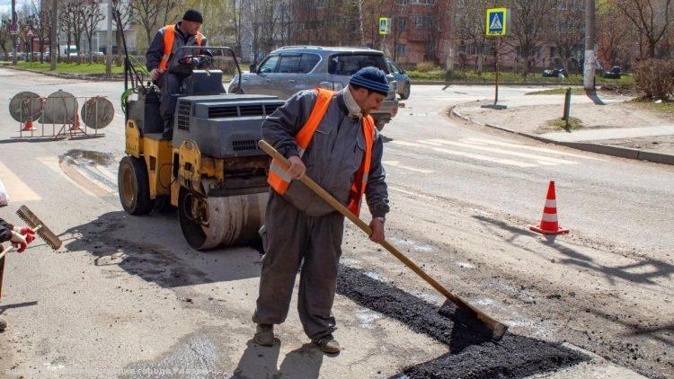 В Рязани отремонтировали 6 участков дорог