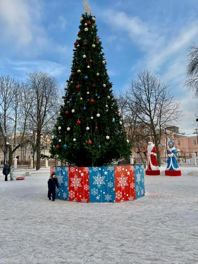 Рязанцам предложили создать новогоднее настроение в Наташином парке