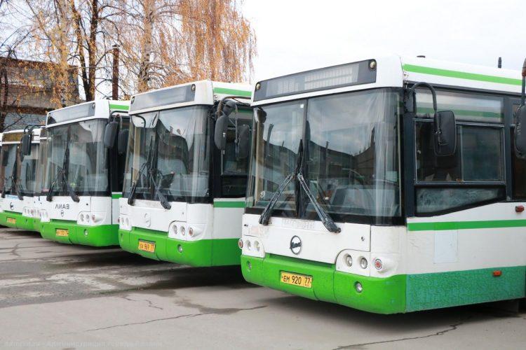 Первые 15 московских автобусов выйдут на улицы Рязани до 1 ноября