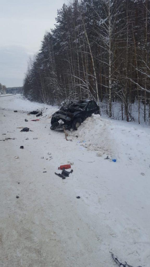 Под Рязанью в ДТП погиб водитель легкового автомобиля