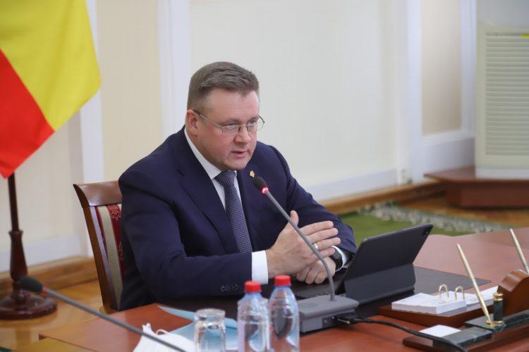 Николай Любимов резко отчитал начальника управления рязанского благоустройства