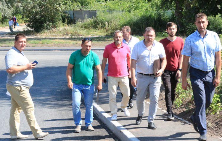Рязанские депутаты приняли ремонт дороги в областном центре