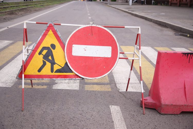 В Рязани на четыре дня перекрыли движение на перекрестке в центре города