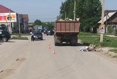 В Скопине водитель КамАЗа насмерть сбил велосипедиста