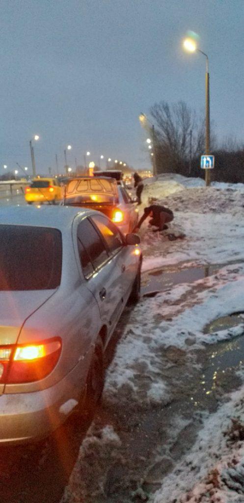 Рязанцы сообщили о повреждении 6 машин на Северной окружной дороге из-за ям