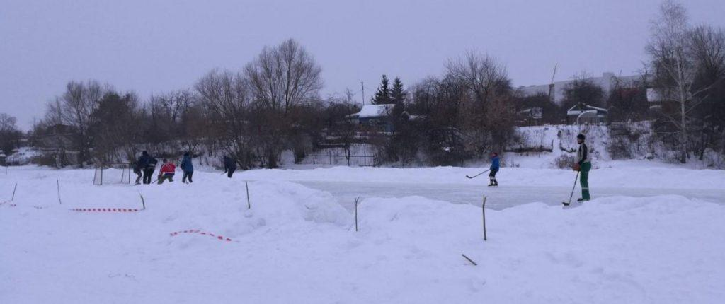 Рязанские коммунисты помогли жителям Южного решить вопрос строительства хоккейной коробки