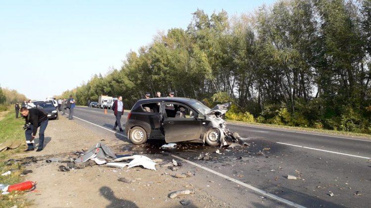 В Рязанском районе в ДТП погибли двое детей