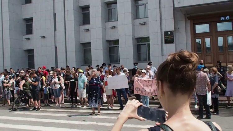 Песков сообщил мнение кремля по поводу протестов в Хабаровске