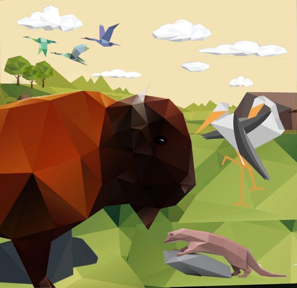 На фасаде рязанской школы №49 появится стрит-арт с животными Окского заповедника