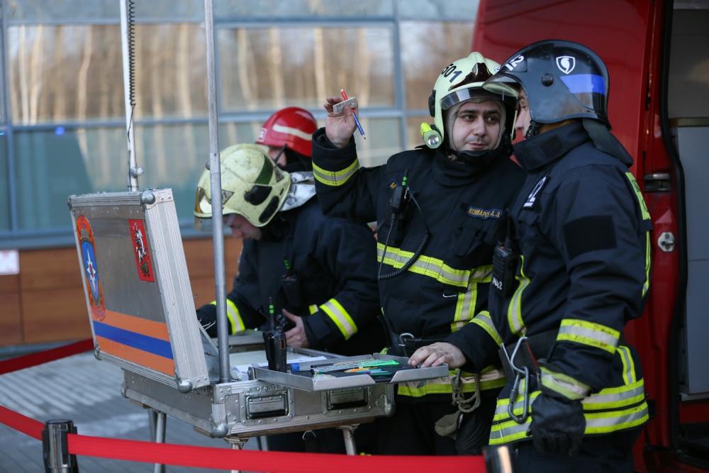 В рязанском ТЦ «Премьер» спасатели проведут ночные учения