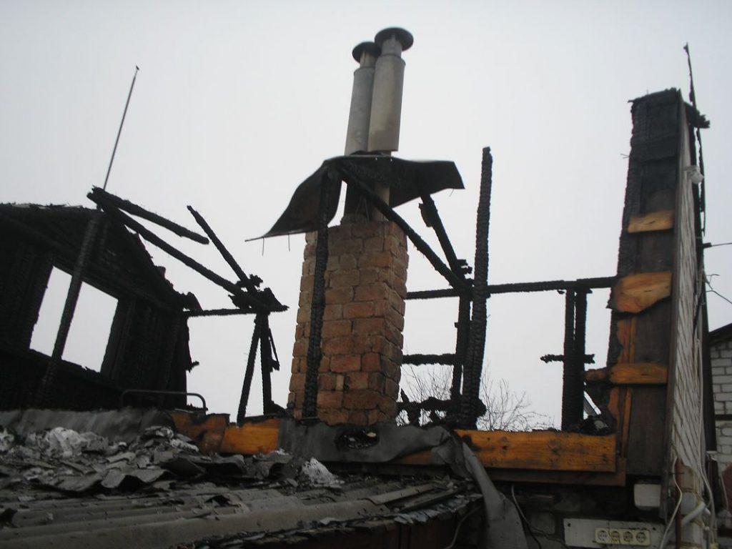 В Ряжске 79-летняя пенсионерка из-за пожара осталась без бани