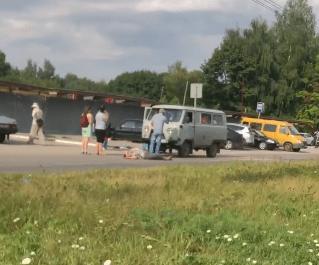 Около рязанского кожвендиспансера сбили пешехода