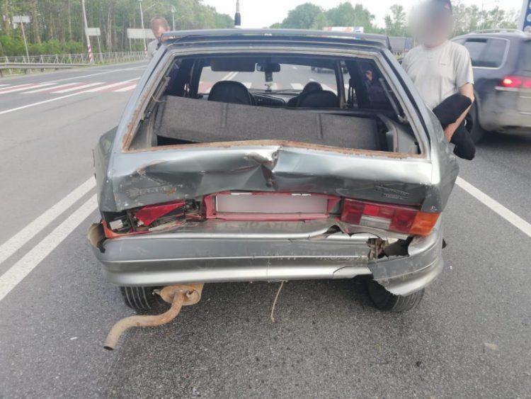 В ДТП под Рязанью пострадали два человека