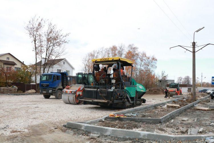 Мэр Рязани проверила ход ремонта участка автодороги к БСМП
