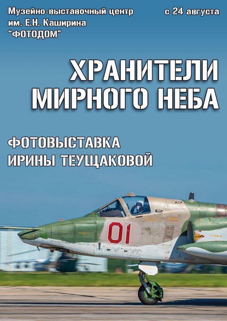 Рязанцев приглашают на выставку авиационного фотографа «Хранители мирного неба»