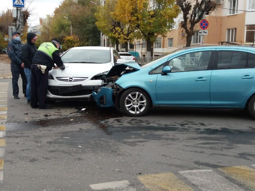 В центре Рязани произошло серьезное ДТП